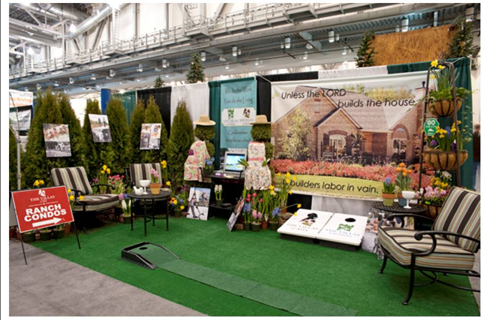 home show booth ranch condos peninsular places home garden show - Home And Garden Trade Shows